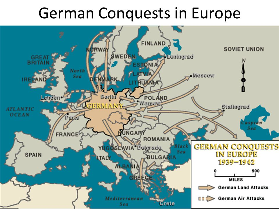 German Conquests in Europe