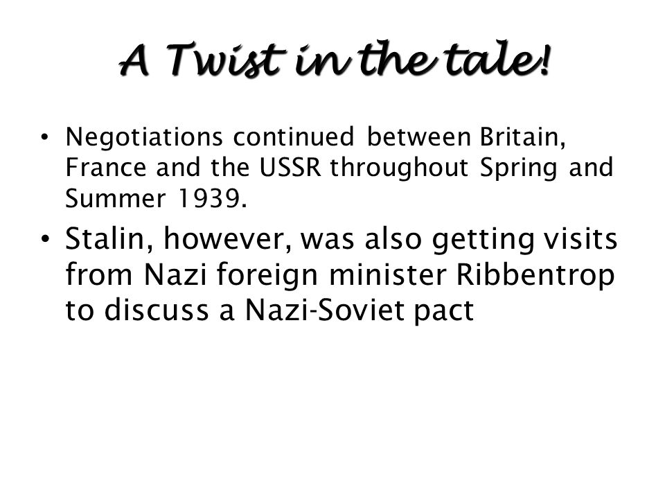 Why would Chamberlain be hesitant to commit to an alliance with the Soviet Union?