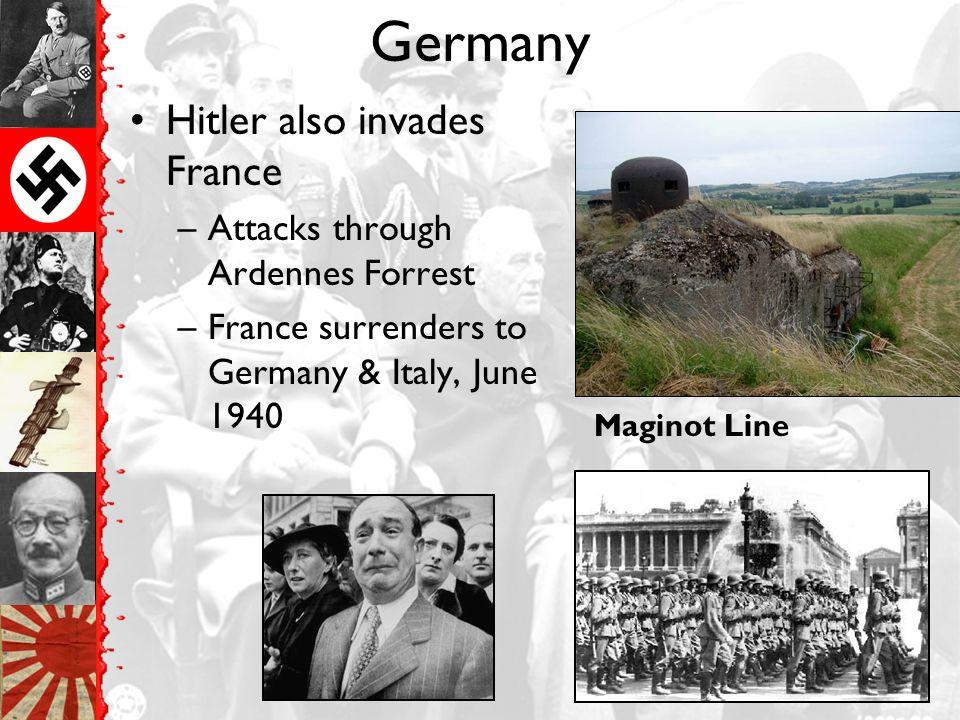 Germany 1940--Hitler invades Belgium