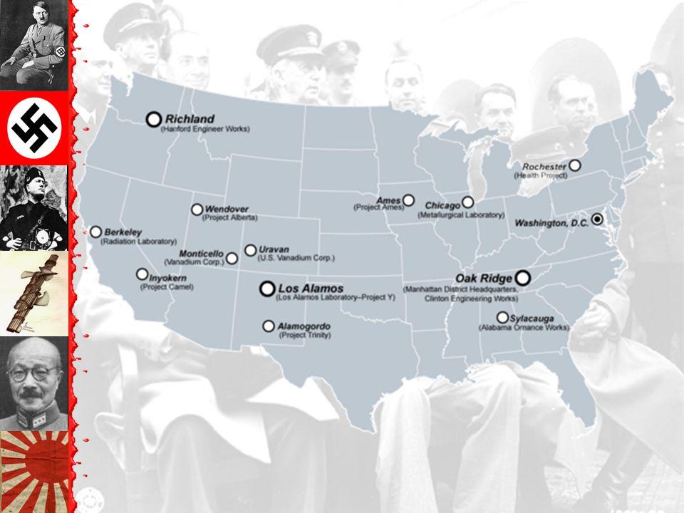 America Mobilizes for War Manhattan Project –Atomic bomb –J. Robert Oppenheimer & Gen. Leslie Groves