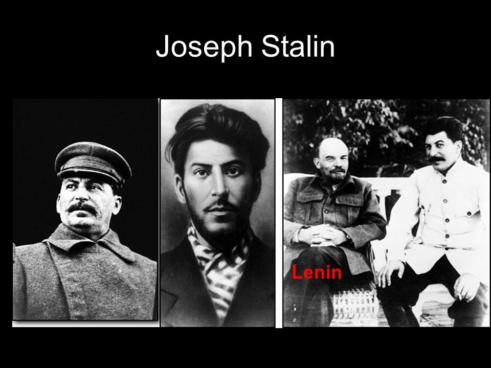 Joseph Stalin Lenin
