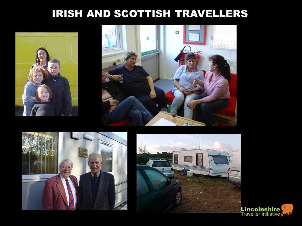 IRISH AND SCOTTISH TRAVELLERS