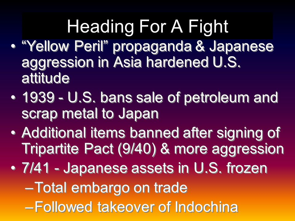 Competing Interests in the Pacific Prior to U.S.