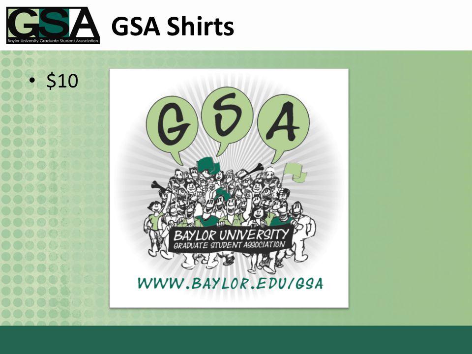 GSA Shirts $10