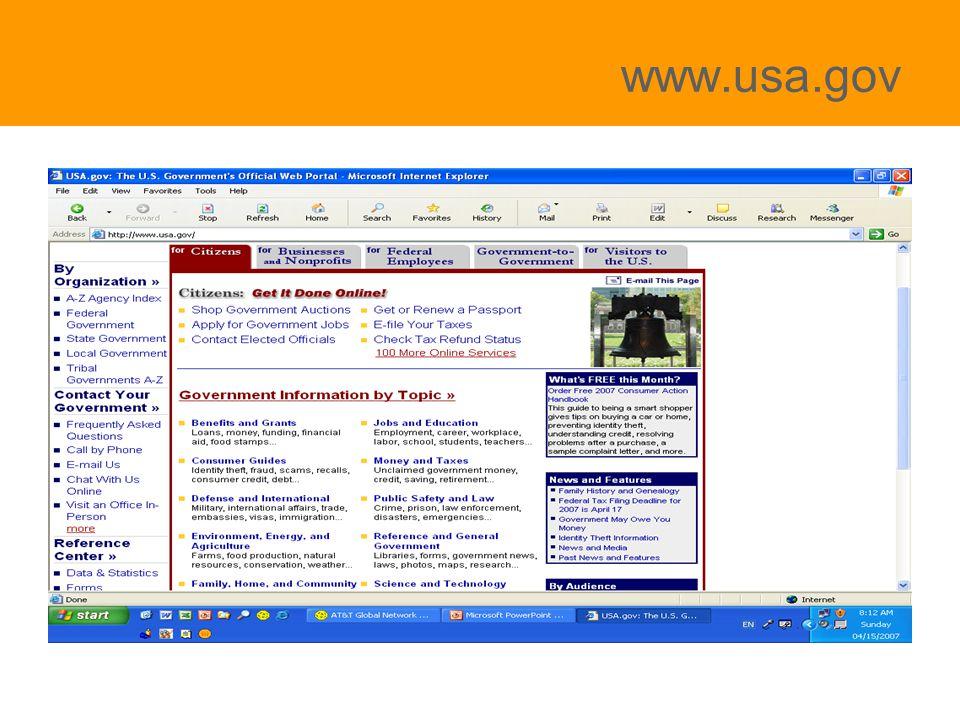 www.usa.gov