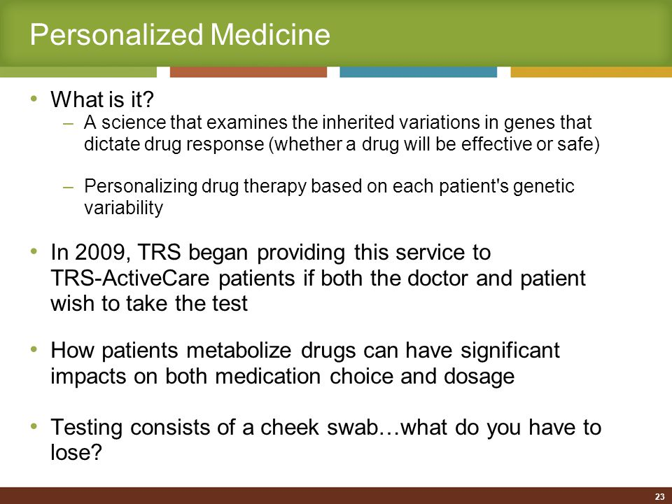 Personalized Medicine What is it.