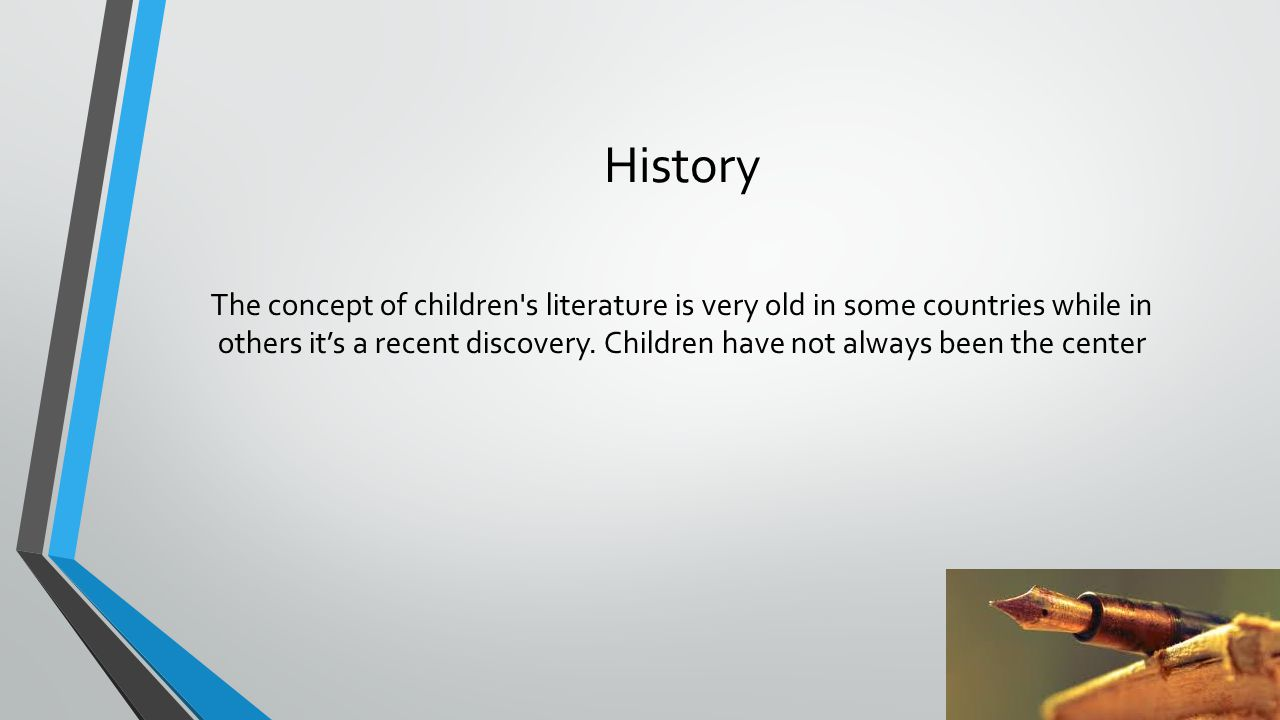 History The first children's picture book was published in 1658 by John Cormenius.