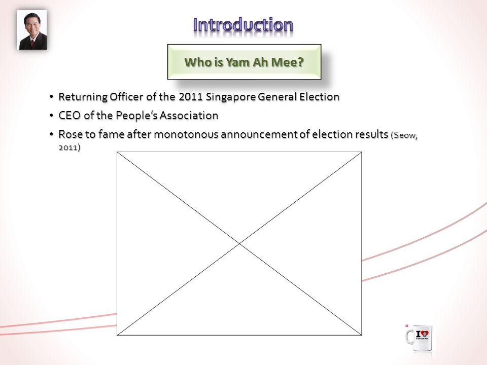 Who is Yam Ah Mee.