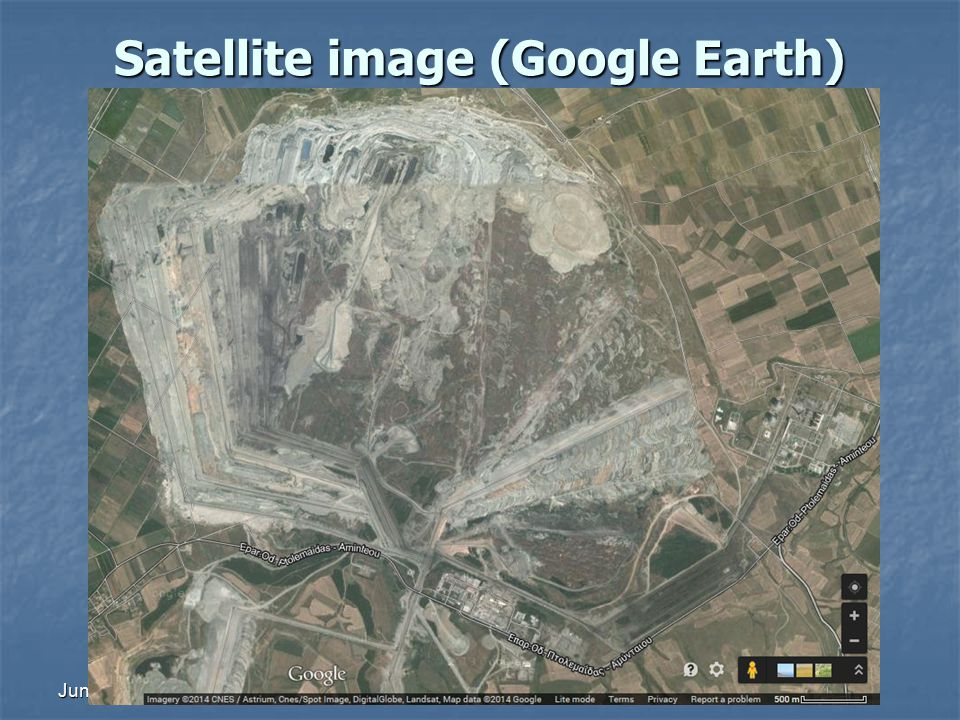 June 2014 ΕΡΕΥΝHΤΙΚΗ ΜΕΘΟΔΟΛΟΓΙΑ Satellite image (Google Earth)