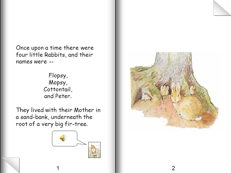 The Tale of Peter Rabbit Written and Illustrated by Beatrix Potter 1902