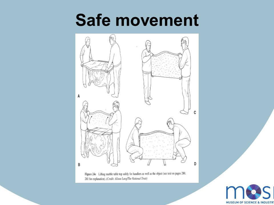 Safe movement