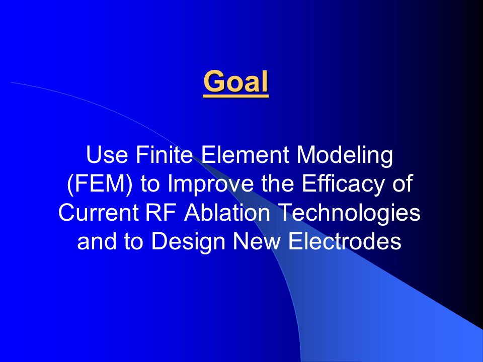 Modes of RF Energy Applications Maintain the tip temperature at a preset value Adjust voltage applied to the electrode Temperature controlled ablation Power controlled ablation Maintain power delivered at a preset value Adjust voltage applied to the electrode