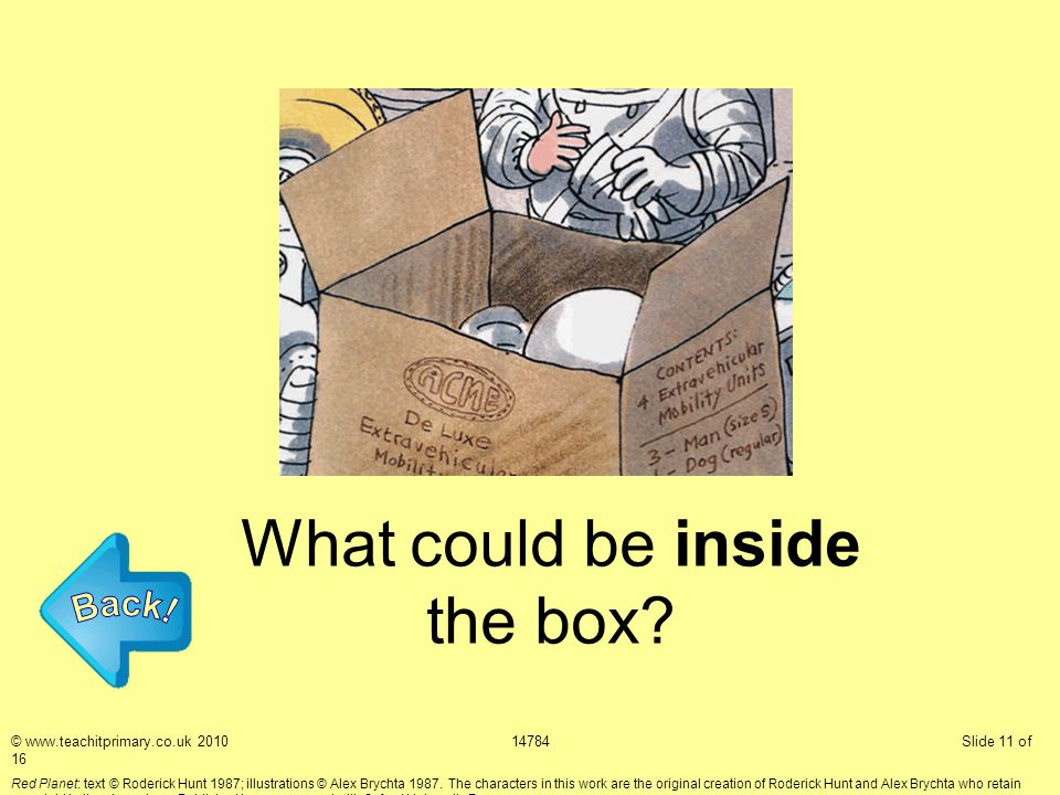 What could be inside the box.