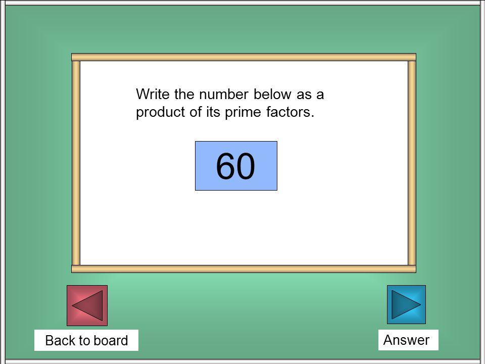 Back to board Explain? Expand: ( x + 3 )( x + 4 ) x 2 + 7x + 12