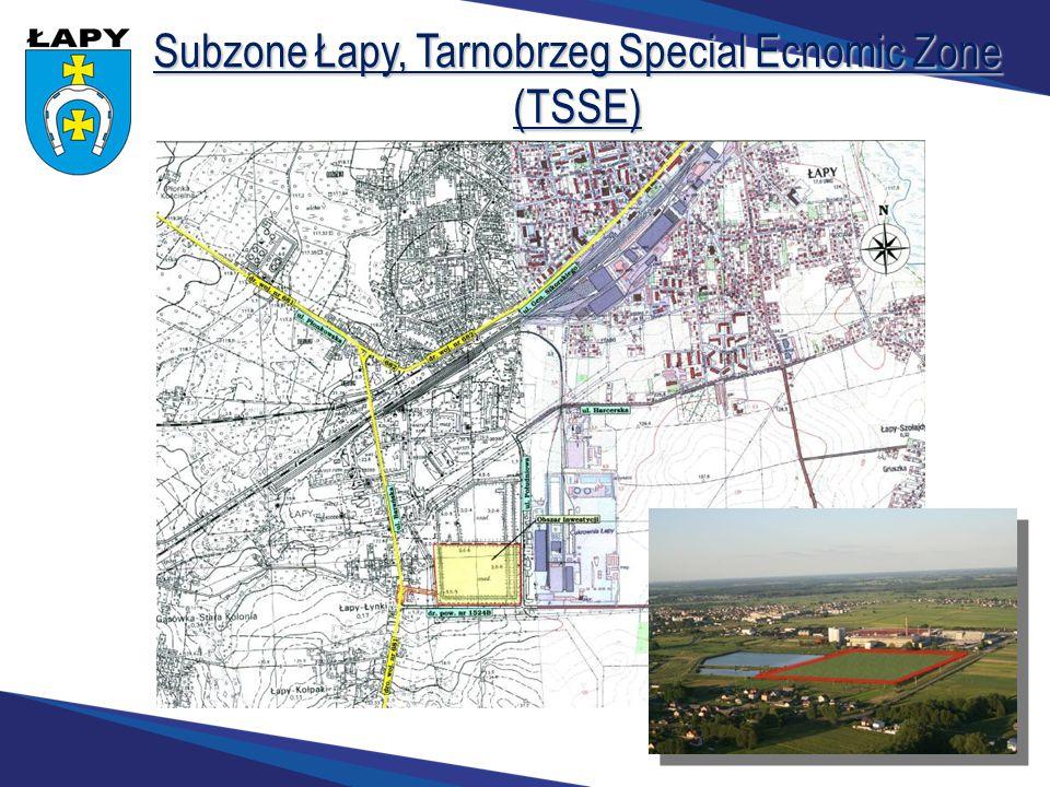 Subzone Łapy, Tarnobrzeg Special Ecnomic Zone (TSSE)