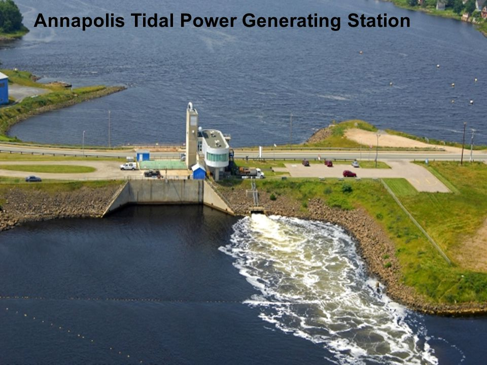 Annapolis Tidal Power Generating Station