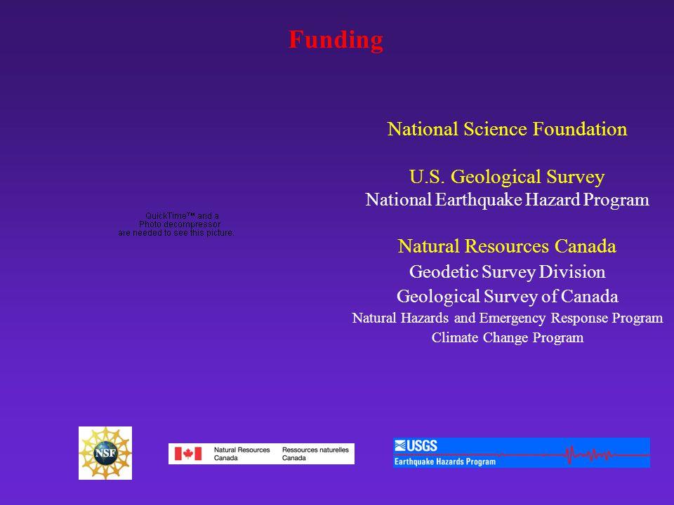 Funding National Science Foundation U.S.