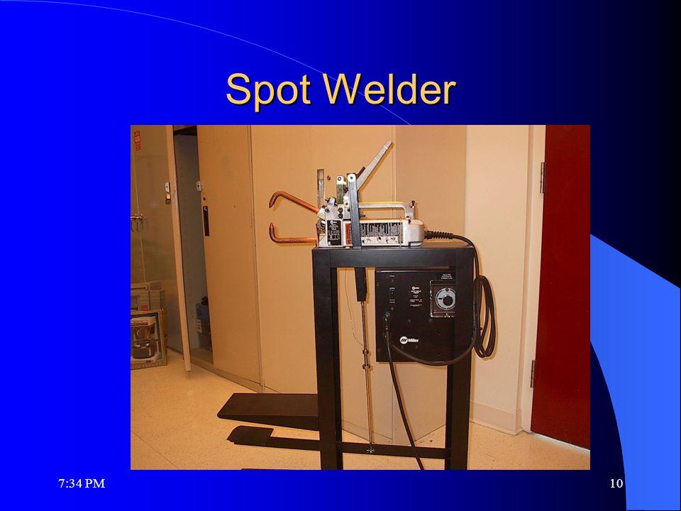 Spot Welder 7:36 PM10