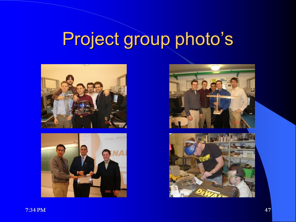 Project group photo's 7:36 PM47