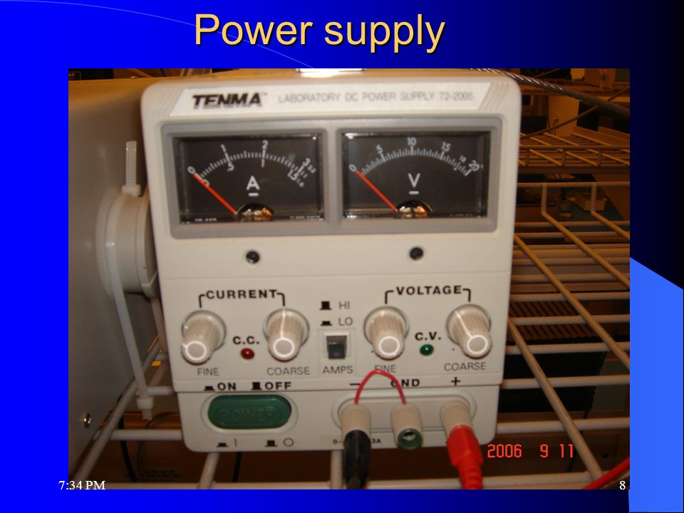 Power supply 7:36 PM8