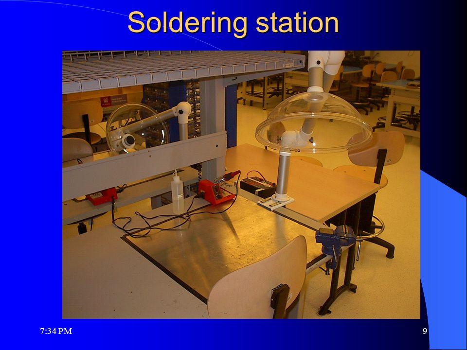Soldering station 7:36 PM9