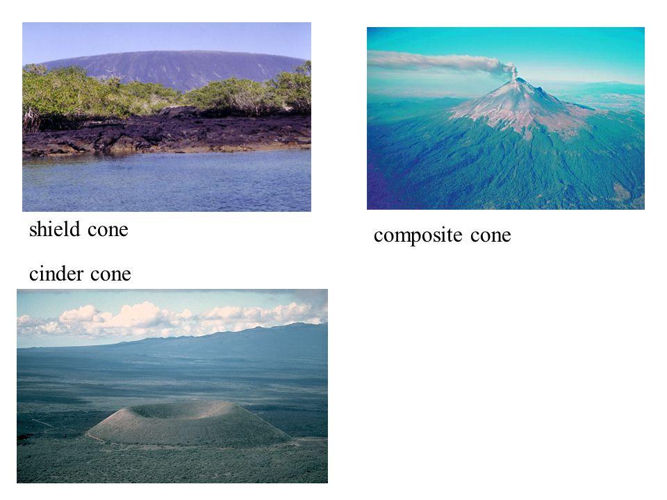 cinder cone composite cone