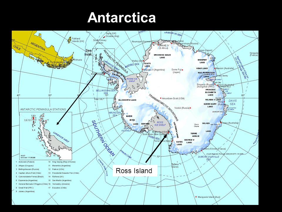 Ross Island Antarctica