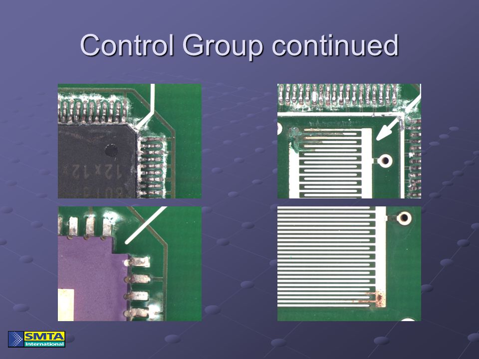 Control Group continued