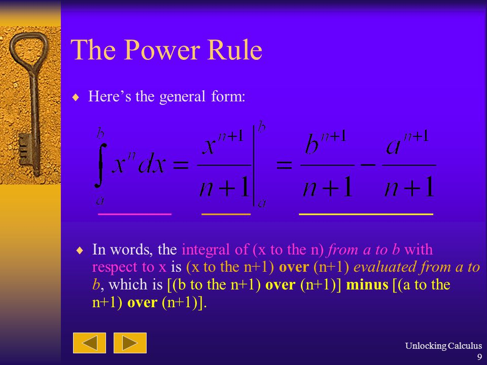 Unlocking Calculus 8 The Power Function  A power function is any function with x raised to some exponential power.
