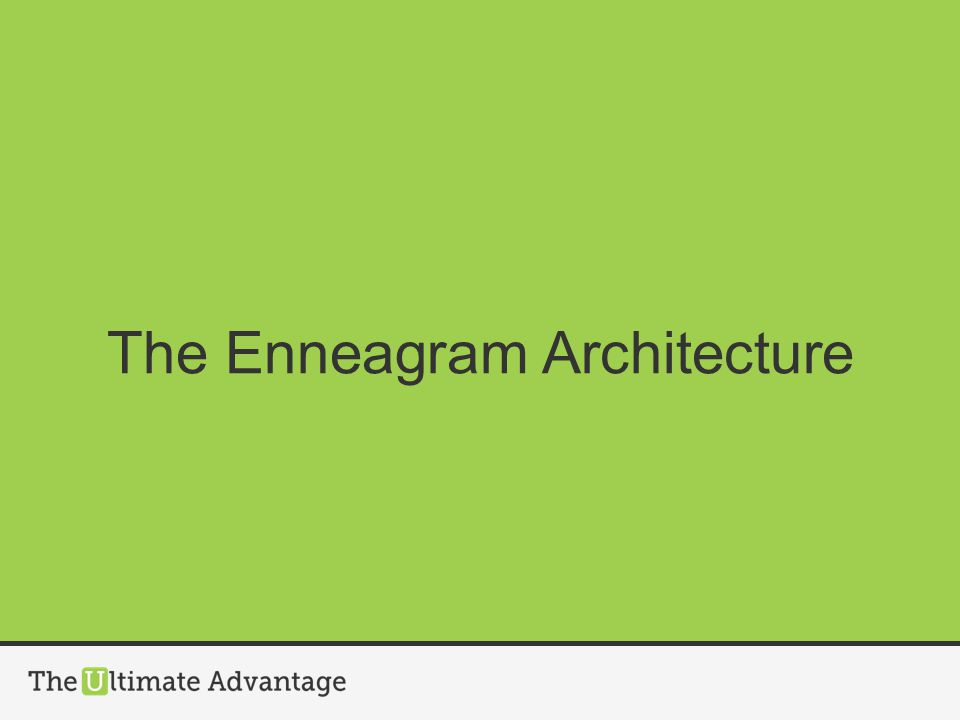 The Enneagram Architecture