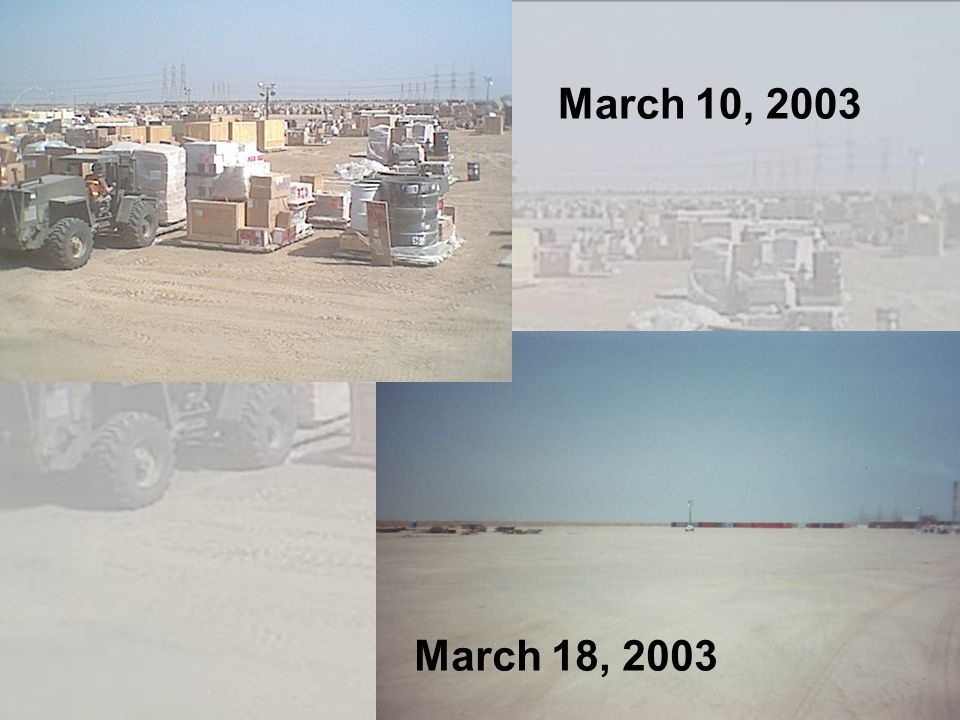 March 10, 2003 March 18, 2003