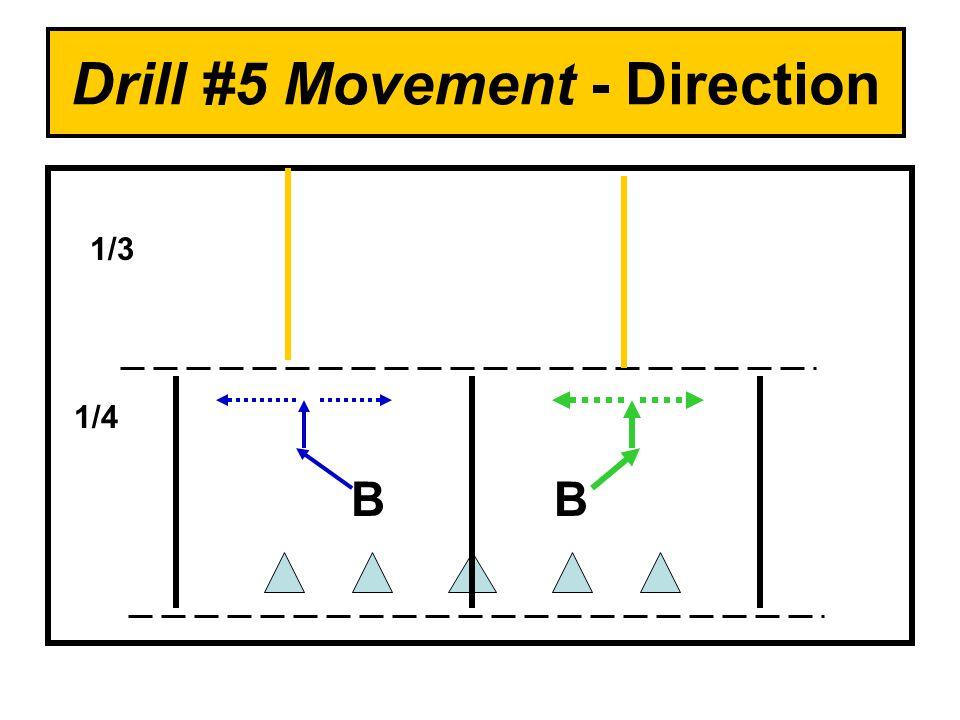 Drill #5 Movement - Direction BB 1/4 1/3