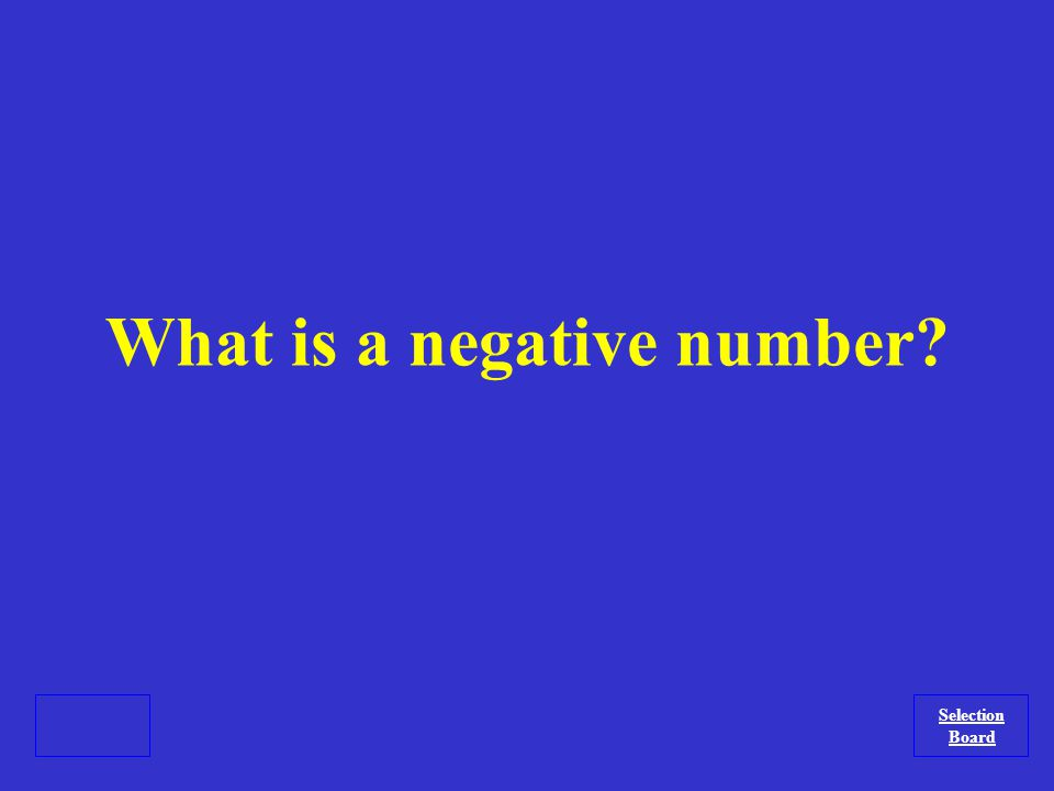 The type of number that must appear underneath a radical for imaginary numbers to be considered.
