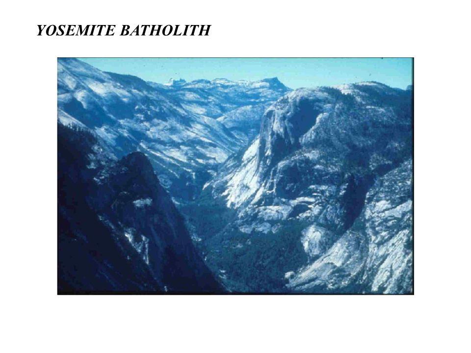 YOSEMITE BATHOLITH