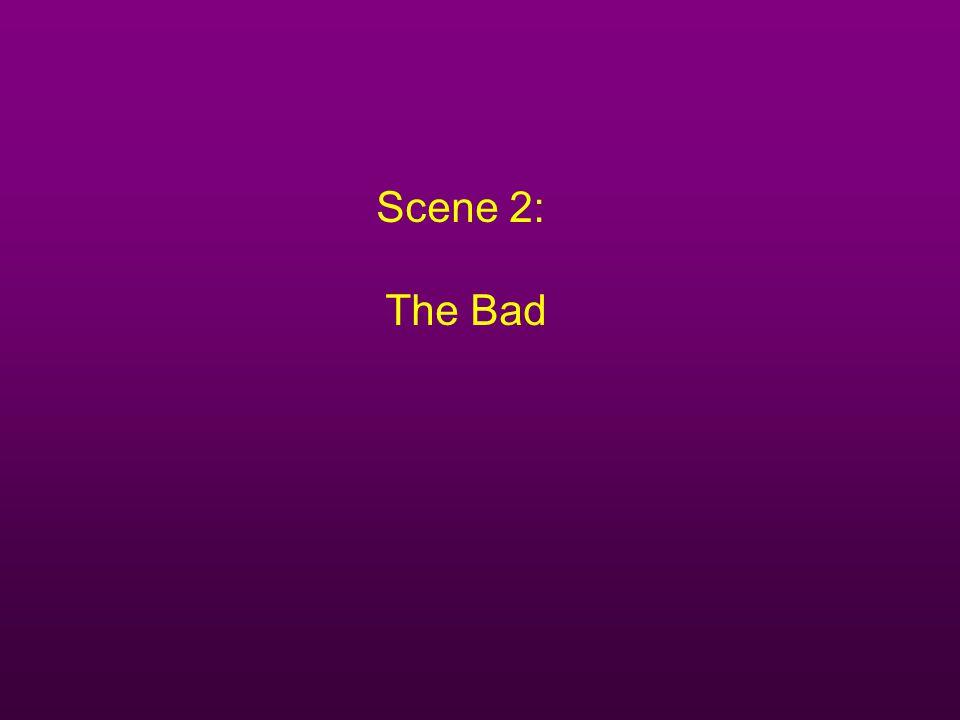 Scene 2: The Bad