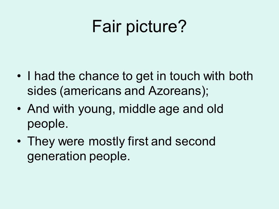 Fair picture.