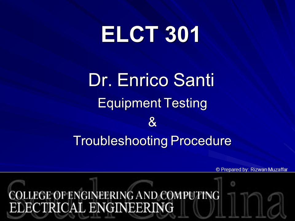 ELCT 301 Dr.