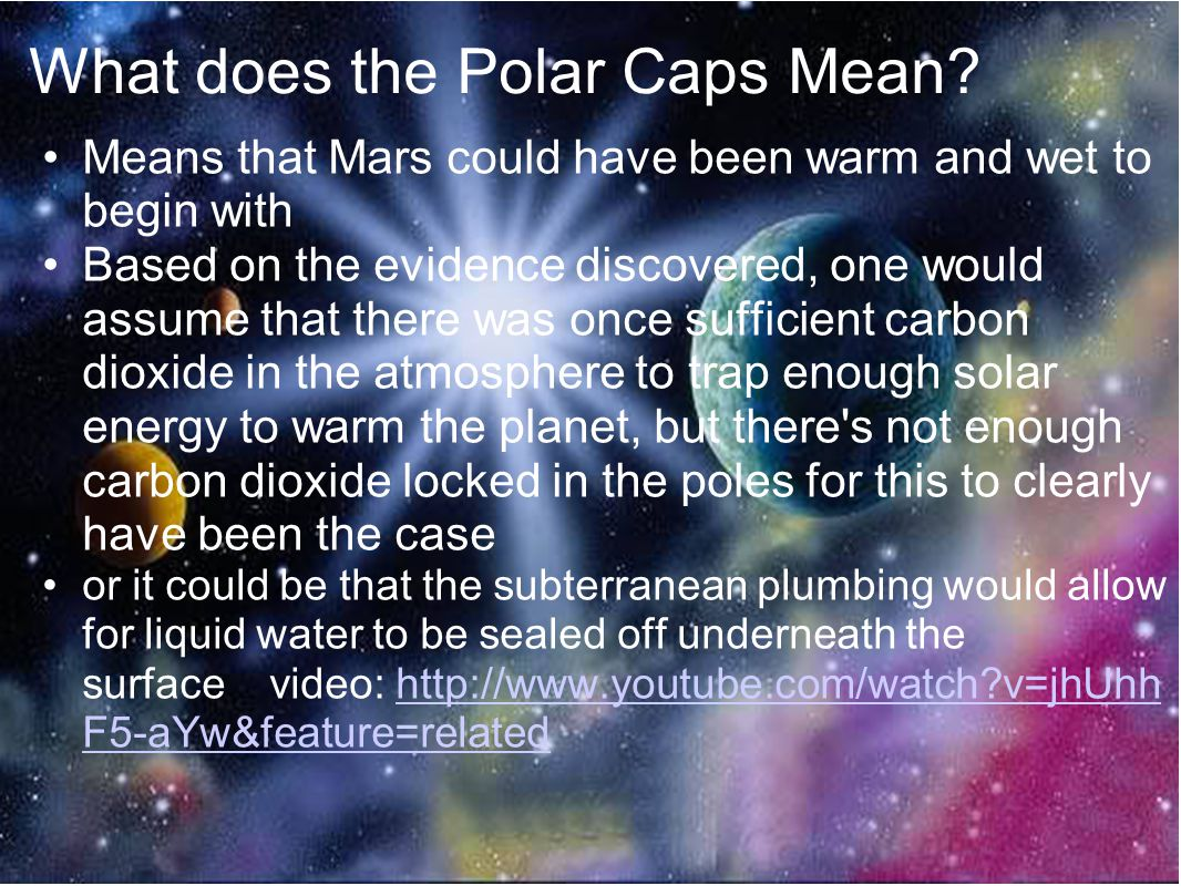 Works Cited Cain, Fraser. Mars Polar Caps. Universe Today.