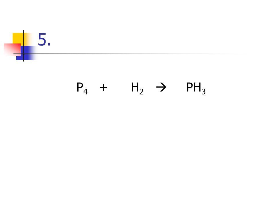 #4 CuCl 2 + H 2 S  CuS + HCl