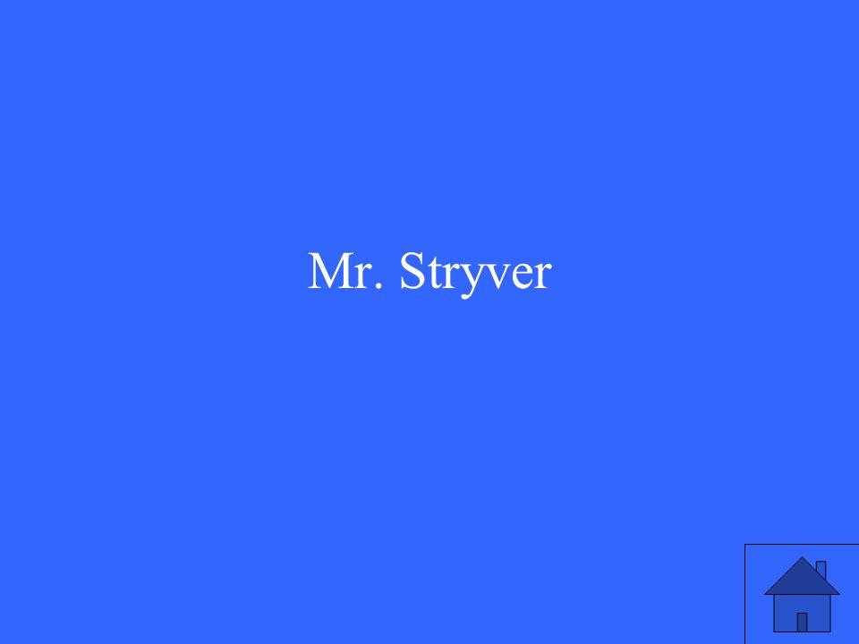 Mr. Stryver