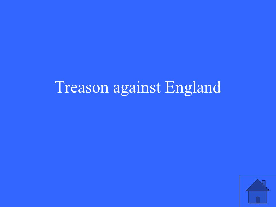Treason against England