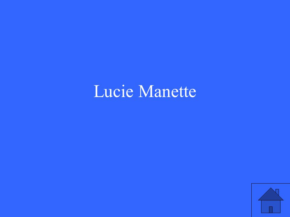 Lucie Manette