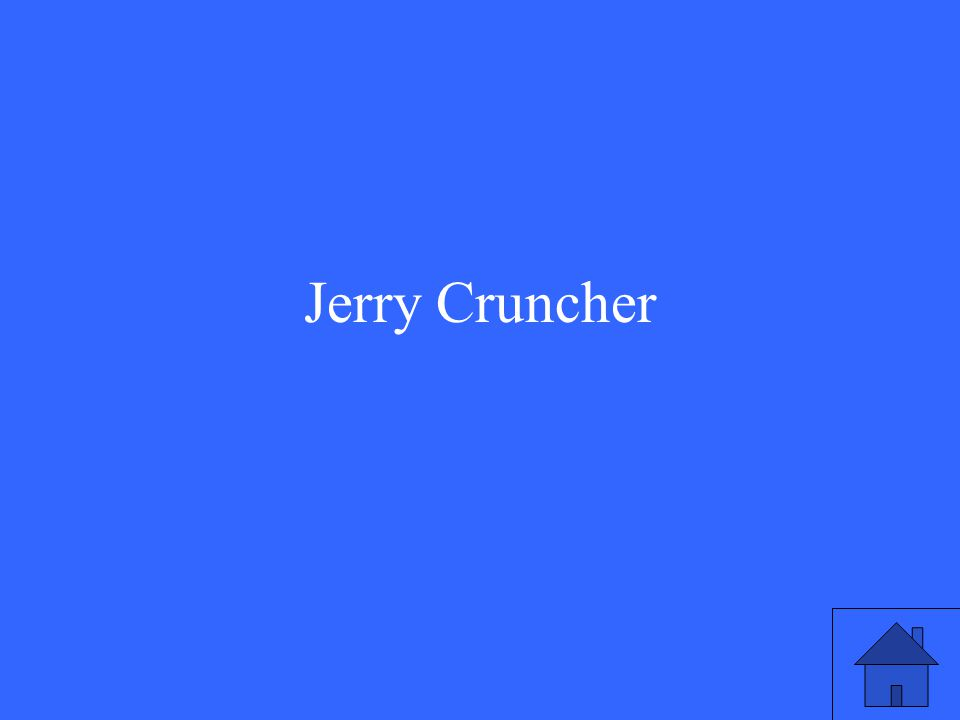 Jerry Cruncher