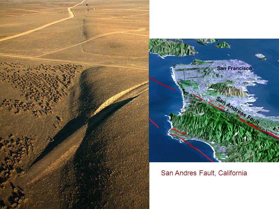 San Andres Fault, California