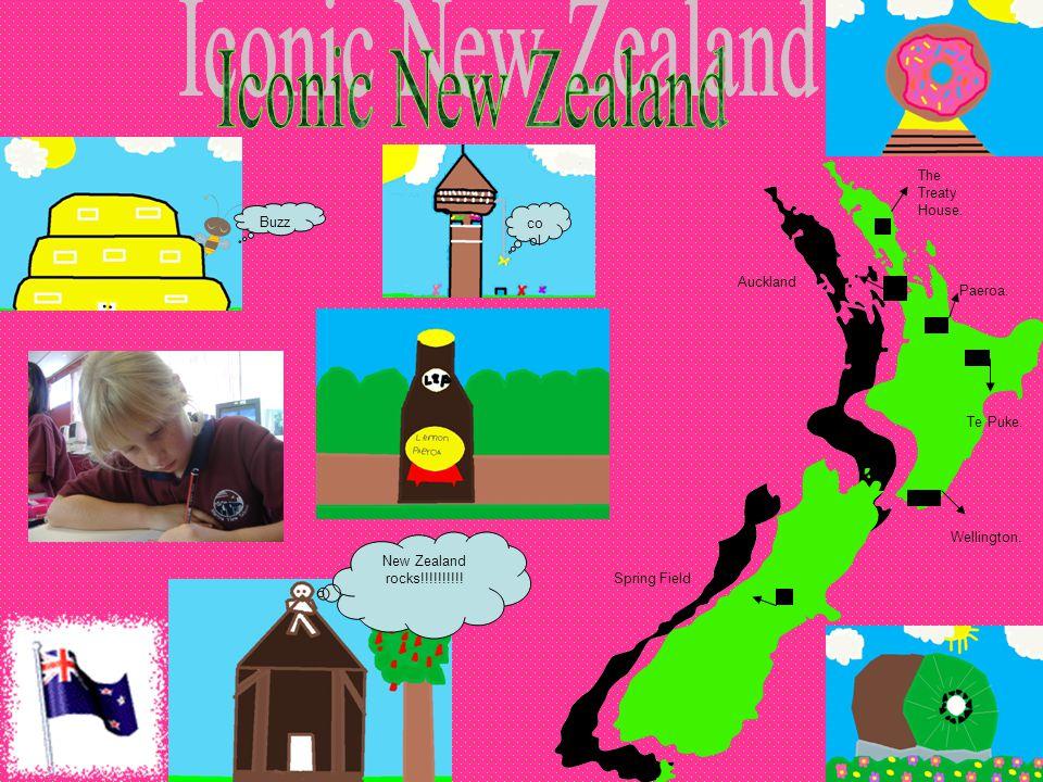 The Treaty House. Paeroa. Wellington. Auckland Spring Field Te Puke.