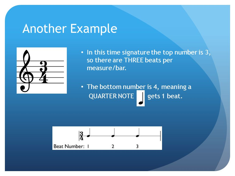 Basic Guidelines for Counting 1) The first note (or rest) in EVERY BAR will ALWAYS be labeled beat 1.