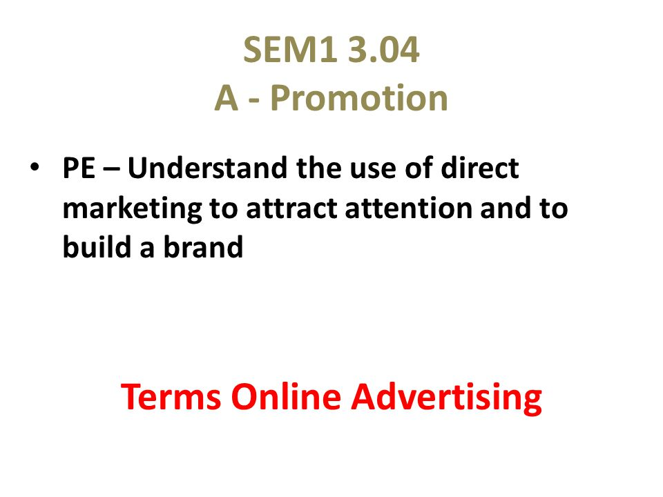 Locate examples of the online advertising terms that include sport/event banner ads buttons, pop-up ads, flash ads, and other online advertising, etc.