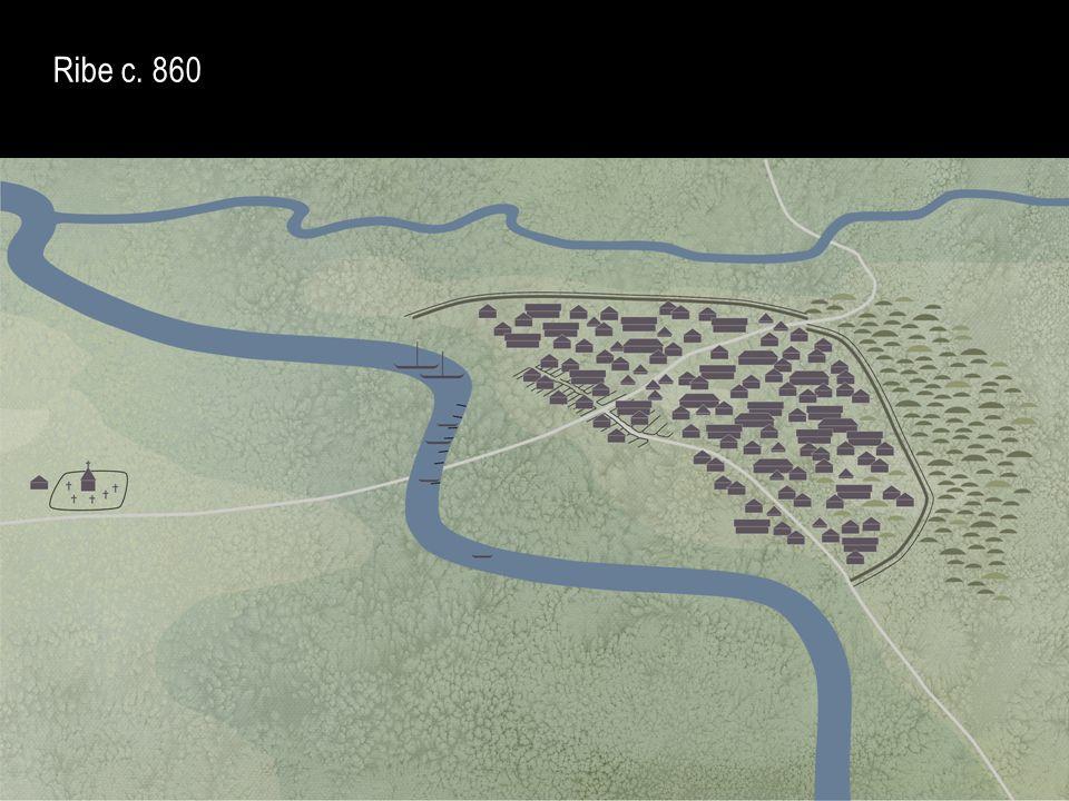 Ribe c. 860