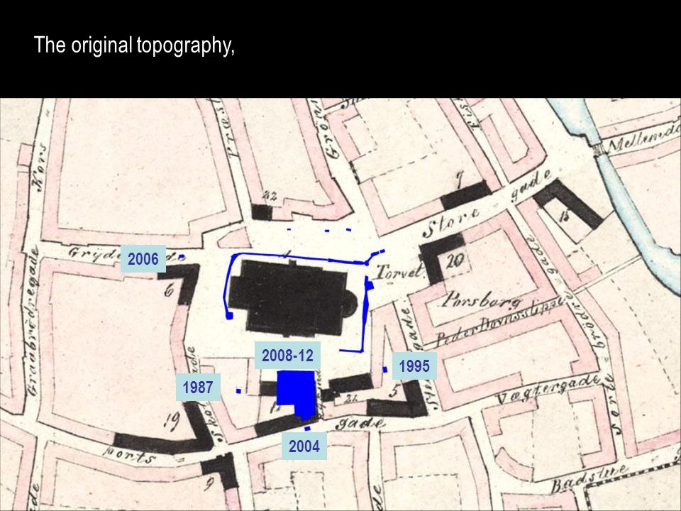 The original topography, 2006 2004 1987 1995 2008-12