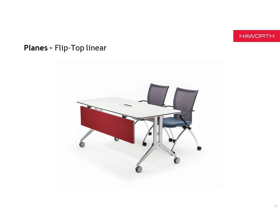Planes – Flip-Top linear 10